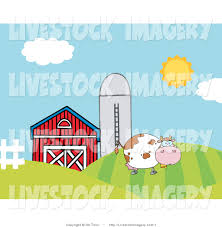 Clip Art Of A Dairy Cow On Farmland With A Silo And Red Barn By ... Holstein Dairy Cattle In A Green Field With Red Barn Stock Campground Home 1201 Best Barns Images On Pinterest Country Haing At The Big Aslrapp I Lived A Dairy Farm When Was Girl And Raised Calves Ihocalendar Ihocalendarcom Showcases Photos From Wisconsin Summer Photo 37409353 Shutterstock Herd Of Cows In Pasture With Large Red Family Farms Maker Puts Local Farmers First Pole Barn Sweet