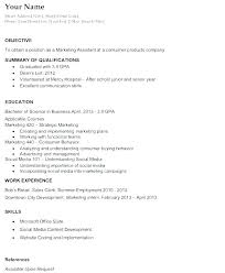 Resume Example Job Great Objectives Of A Career In