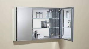 medicine cabinets stunning 3 door mirrored medicine cabinet