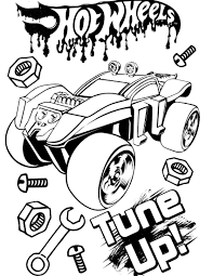 Hot Wheels Coloring Pages To Print