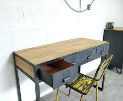 bureau en m al bureau metal bois bureau mal bureau bureau mal bureau design metal
