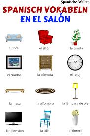 spanisch vokabeln wohnzimmer spanisch vokabeln spanisch