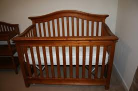 pinehurst lifestyle crib conversion kit tea stain baby crib