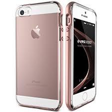 coque iphone 5s se 5 vrs design or transparente antichoc