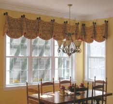 Farmhouse Dining Rooms Valance Ideas And Window