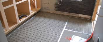 tile 101 how to install suntouch warmwire radiant floor heat in