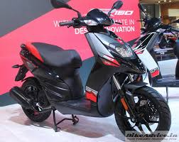 Aprilia SR 150 To Have Introductory Price Of Rs 65000 Deliveries From August
