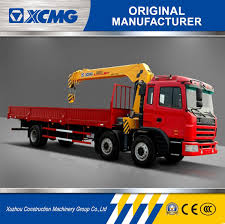 China 8ton Lorry Crane Sq8sk3q Straight Arm Truck Mounted Crane ...