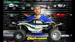 100 Gas Rc Monster Trucks LOSI 15 MONSTER TRUCK XL 4WD RTR With AVC TECHNOLOGY YouTube