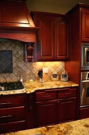 Cherry Cabinets Kitchen Colors Wall Color Wood For Sale
