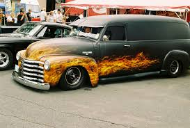 1953 Chevy Panel Van , Lowered , Black Primer W/ Custom Flame Paint ... 1965 Panel Truck 007 Cars I Like Pinterest Chevy Pickups Gmc Review 53 Panel Truck Ipmsusa Reviews 1955 Chevy From Album Chevrolet By Auctions 1969 C10 Owls Head Transportation 1961 Helms Bakery The Hamb Hot Rod Network Paneldude1 1966 Van Specs Photos Modification Info 1957 For Sale Classiccarscom Cc753027 Nostalgia On Wheels Patina 1948 Cc501332 1963 Chevrolet Panel Truck