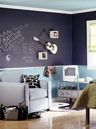 DIY BedRoom Decor For Men With Chalk Wall And Teal