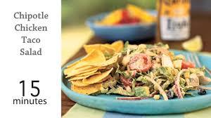 Chipotle Halloween Special 2013 by Chipotle Chicken Taco Salad Recipe Myrecipes