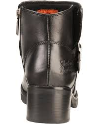 Harley Davidson Bath Decor by Harley Davidson Women U0027s Khari Leather Harness Boots Sheplers