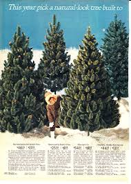 Vintage Artificial Christmas Trees