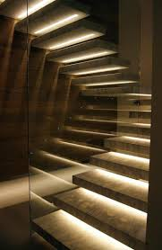 indoor stair lighting wall recessed best images on stairs