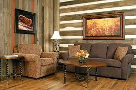 Rustic Style Homes Interior Wall Stylish With Wood Decorating