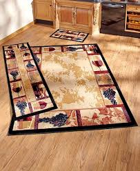 Tuscan Wine And Grape Kitchen Decor by Tuscan Grape Themed Kitchen Rugs Accent Runner Area Stain