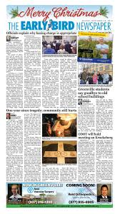 Spirit Halloween Bakersfield Wilson by Early Bird Enewspaper 12 25 16 By The Early Bird Issuu