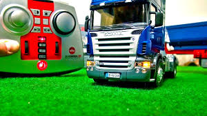 Rc Truck Scania! How Does It Function! First USE! SIKU Control! RC ...