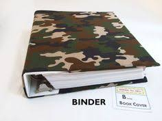 Decorative 3 Ring Binders by Stretch Binder Cover In Flowers On Grey Fabric 2