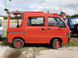 100 Mini Fire Truck 1996 Daihatsu Deck Van SOLD San Marcos Motorcycles