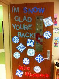 Im Snow Glad Youre Back Winter Door Decoration