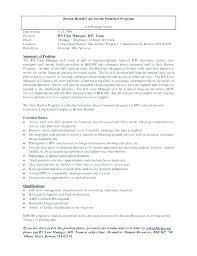 Sample Resume Objectives For Nurses Objective Examples Nursing Case Manager Nurse Cover Letter