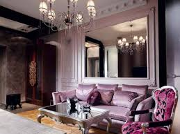 Grey And Purple Living Room Ideas by Spectacular Purple And Black Living Room Ideas Decor Mirrors