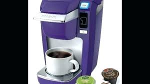 Purple Keurig Mini Improved Brewer Collection Pink Plus Kohls Coffee Maker Colors