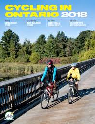 Cycling In Ontario Guide 2018 By Ontario By Bike / Transportation ...