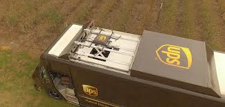 This UPS Truck Can Deploy An Autonomous Roof-Docked Delivery Drone ...