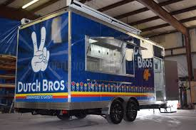 Custom Concession Trailer For Dutch Bros Coffee - 20ft - Portland ...