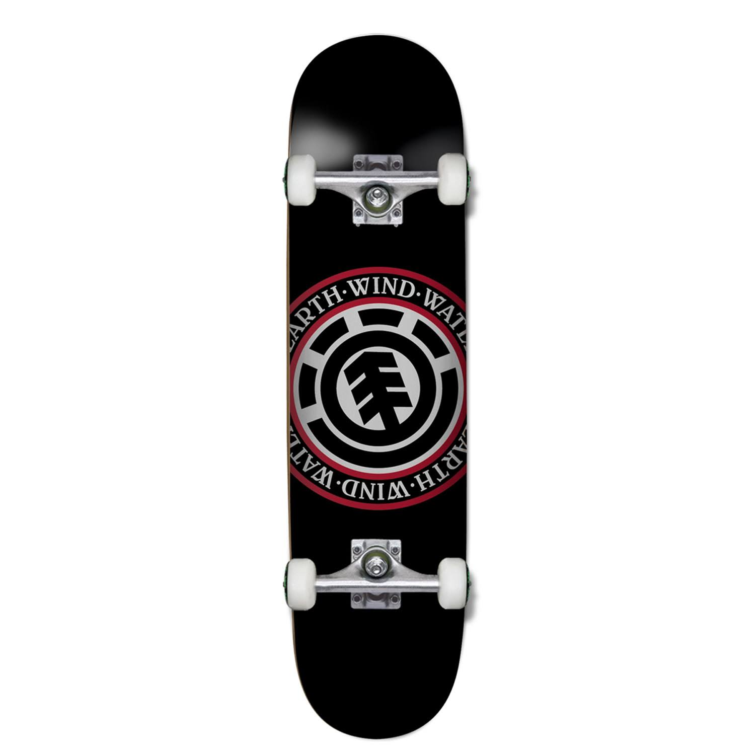 Element Seal Skateboard - Black