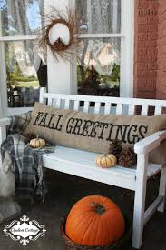 Outdoor Halloween Decorations Canada by 37 Fall Porch Decorating Ideas Ways To Decorate Your Porch For Fall