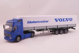 JOAL 334 - Volvo FH12 Truck Globetrotter XL With Covered Trailer ... Truck Trailer Toy First Gear Peterbilt 351 Day Cab With Dual Dump Trailers Farmer Farm Tractor And Kids Set Onle4bargains 164 Scale Model Truckisuzu Metal Diecast Trucks Semi Hauler Kenworth And Mack Unboxing Big 116 367 W Lowboy By Horse Hay Biguntryfarmtoyscom Bayer Equipment Custom Bodies Boxes Beds Amazoncom Daron Ups Die Cast 2 Toys Games A Camping Pickup