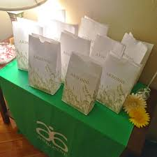 Be Sure To Include Your Business Card With Arbonne Consultant ID A Little Thank You Note Too