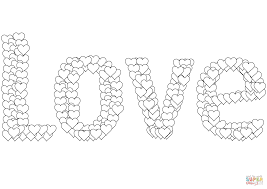 Click The Love Coloring Pages To View Printable Version Or Color It Online Compatible With IPad And Android Tablets