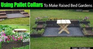 Using Pallet Collars To Make Raised Bed Gardens