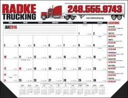 custom imprinted harding full color 22 x 17 desk blotter calendar
