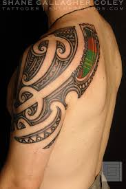Maori Scottish Tattoo Ta Moko Artist Shane Gallagher From