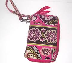vera bradley night day zip around wristlet wallet 10112 052