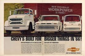 100 Built For Trucks Chevrolet Built For Bigger Things Ad 1966 Pickup Van Tractor