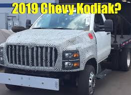 100 Kodiak Trucks Will This Truck Be Called The 2019 Chevy HD 4500 Spied