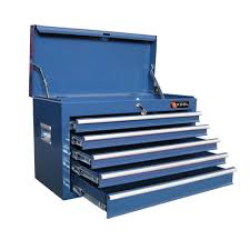 blue tool chests tool storage the home depot