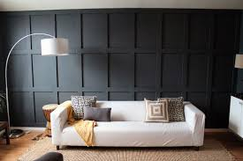 100 Contemporary Wood Paneling Chic Black Panel Wall In A Living Room