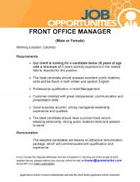 Front Desk Job Salary Hotel by Front Office Manager Male Female Job Vacancy In Sri Lanka