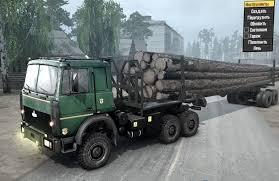100 V10 Truck Maz 6317 V101117 MudRunner SnowRunner Spintires