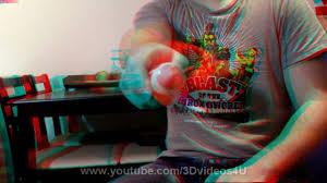 Anaglyph 3D Video Good 3D Effect Big Pen