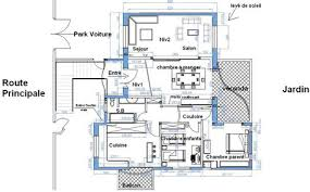 plan maison 150m2 4 chambres plan maison etage 4 chambres gratuit 12 plan d int233rieur de